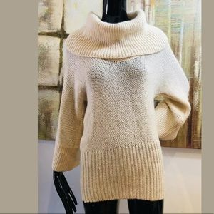 Lucky Brand Chunky Knit Turtleneck Sweater Small